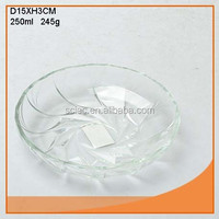 Hot good nice design glass charger plate export to IKEA