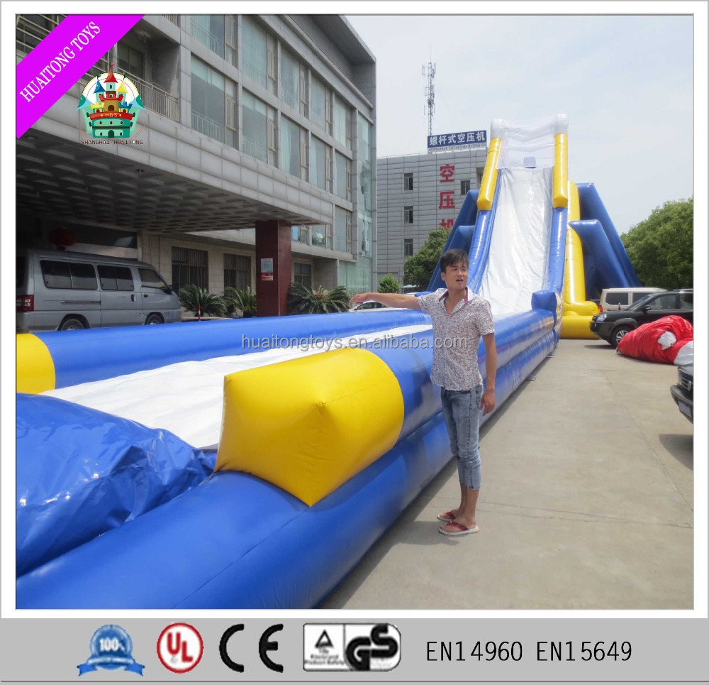 2016 large pool inflatable water slide for children and adults, huge inflatable water slide for sale.