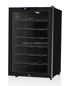 Wine Thermoelectric Cooler, Wine Showcase Refrigerator, Glass Electric Mirror Wine Cellar