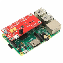 Raspberry pi 52Pi Switch Remote Control Module IR Remote Control Power Button Module for Raspberry Pi 2/3 Model B Pi Zero