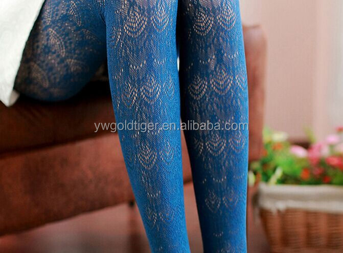 spring autumn colorful tights the lace ombre pantyhose Carve patterns or designs restoring ways render pantyhose Render socks