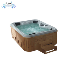 China Manufacture Luxury Outdoor Spa Whirlpool Massage Hot Tub
