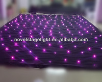 RGB 3in1 low price led curtain lights decorating your wedding/stage backeground cloth