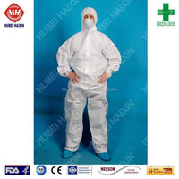 Security Amp Protection Microporous Coverall Protective