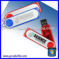 32gb swivel usb flash drive with free plastic package