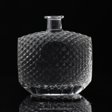 700ml luxury glass wine bottle for whiskey