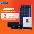 2000W solar power system for home use/good solar powergenerator/2017 New portable solar power 2000W system