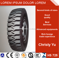 High mileage All steel ISO9000 Guaranteed Radial Tire HS725 for TBR truck with nice quality