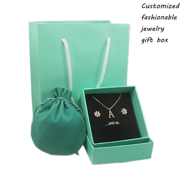 Custom Luxury Various Fashionable Cardboard Jewelry Gift Box For Sale
