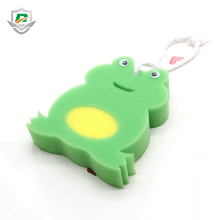High Quality Frog Animal Shaped Soft Bath for Kids Shower Bath Sponge