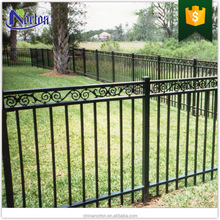 Outdoor use high quality wrought iron fence NTIF-005Y