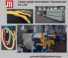 polypropylene plastic pp split film twine extruder/ extrusion stretching line