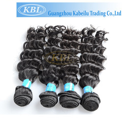 wholesale alibaba express Double Drawn sew in human hair weave ombre hair