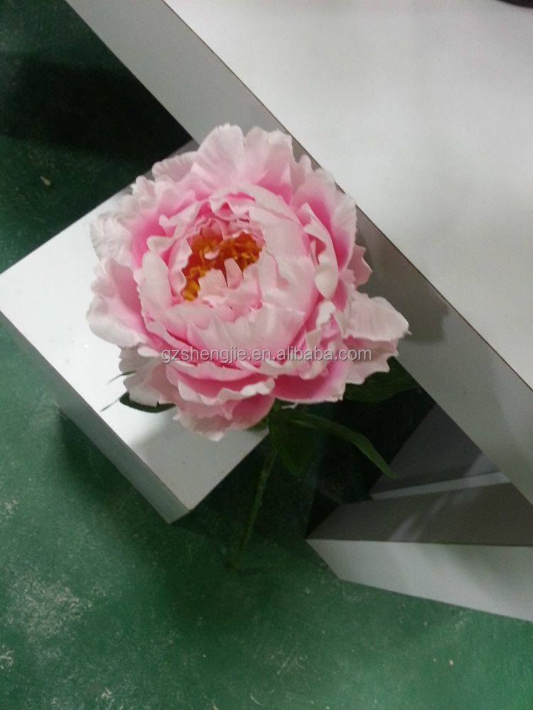 flower making artificial peony flowers Artificial orchid flores artificiais