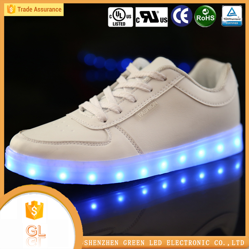 China manufacturer high quality lighting flashing luminous wholesale shoes in california