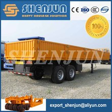 4 wheel strong box utility trailer