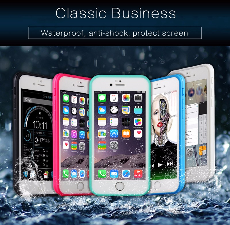New hot sell ultrathin waterproof case for iphone 6/6s