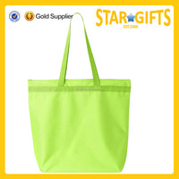 Alibaba China wholesale bright green grocery bag for women