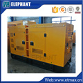 Super silent 98kw canopy gensets with chinese engine and alternator
