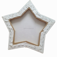 Five start shape pure cotton wood frame artist stretched canvas