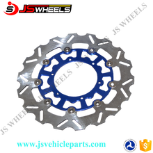 270MM Oversized CNC Front wave floating brake disc rotor for YZ250 Off Road Motorcycle