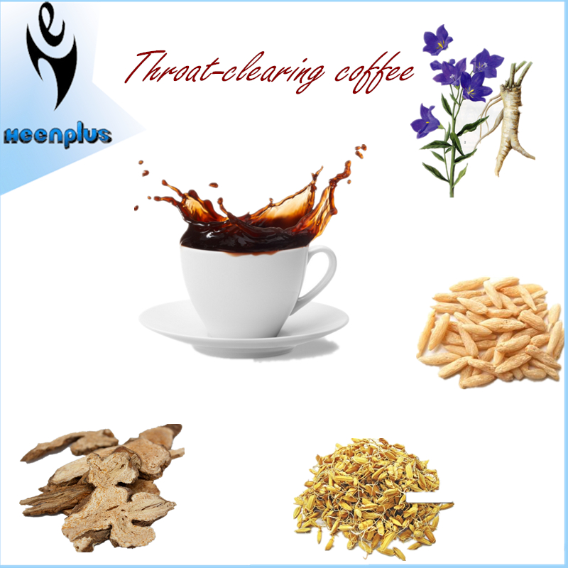 Instant coffee mix with Chinese Herbal Powder