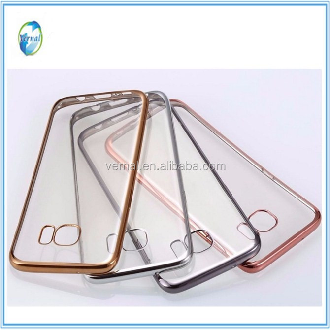 New electric soft tpu case for Samsung S6/S7/S7 Edge/Note Edge