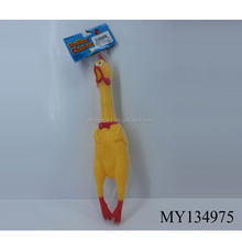 Plastic shrilling chicken 41CM screams of toy chickens