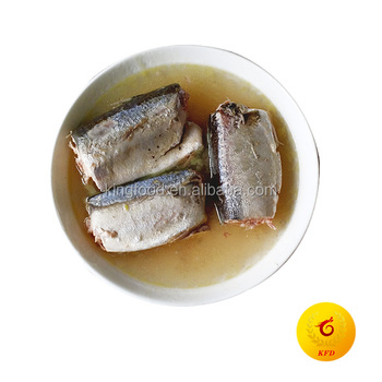 ISO 425G Canned Mackerel In Brine