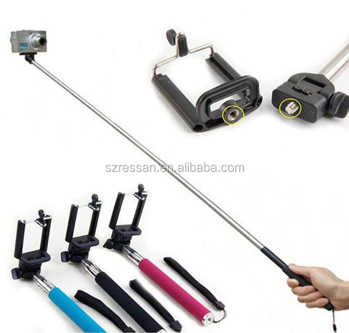 remote control selfie stick bluetooth 2015 buy bluetooth led selfie stick p. Black Bedroom Furniture Sets. Home Design Ideas
