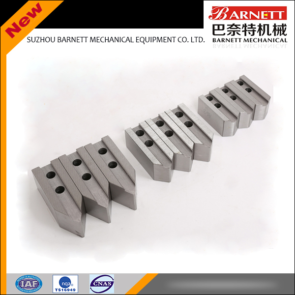 cnc machine 3 soft jaw manufacturer for lathe power chuck