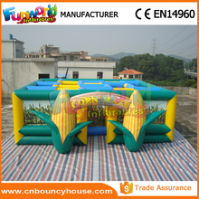Outdoor entertainment jungle maze inflatable corn maze