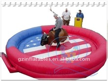 Qi Ling mechanical bull device for park playground