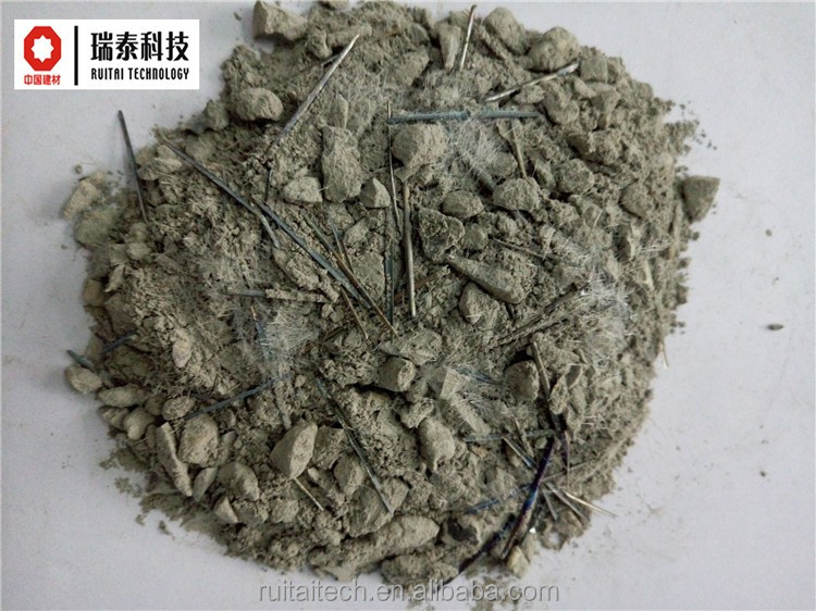 First-class High sterngth Steel fiber explosion proof low cement refractory castable