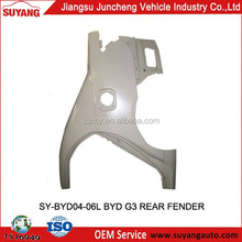 Suyang Car Auto Accessories Rear Fenders for BYD G3