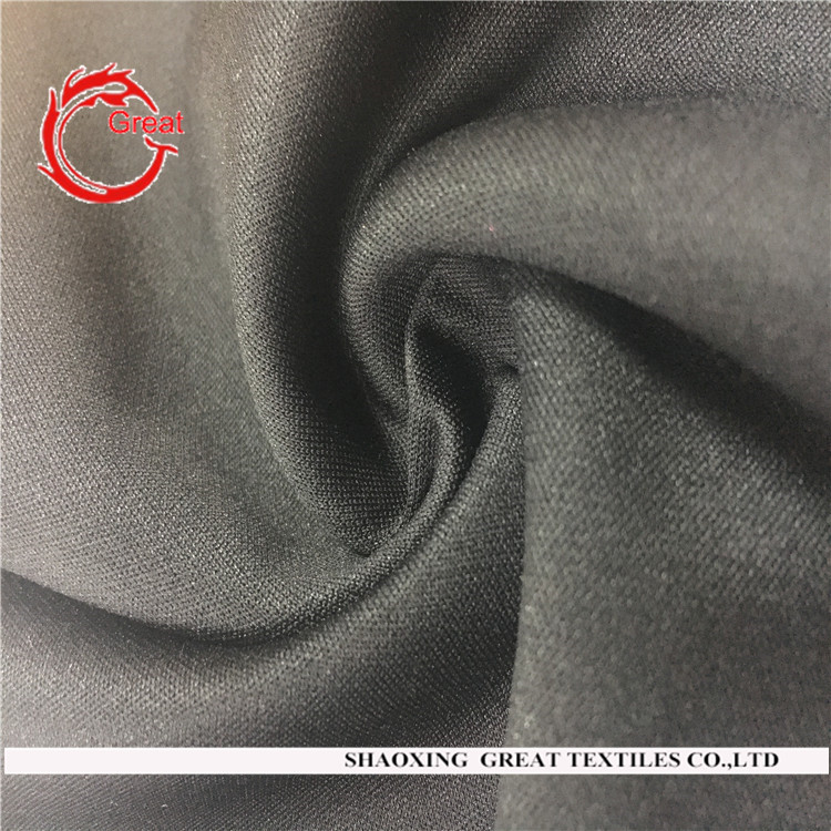 High quality solid color ponte de roma knit fabric wholesale