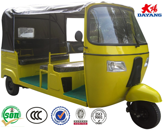 China 150cc passenger bajaj electric rickshaws for sale