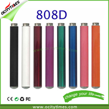 Gold vapor electronic cigarette 808d battery black vitamin prefilled male 510 cartridge and battery