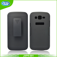 Best selling back cover case for Samsung galaxy grand 2 for g7106 clip holster