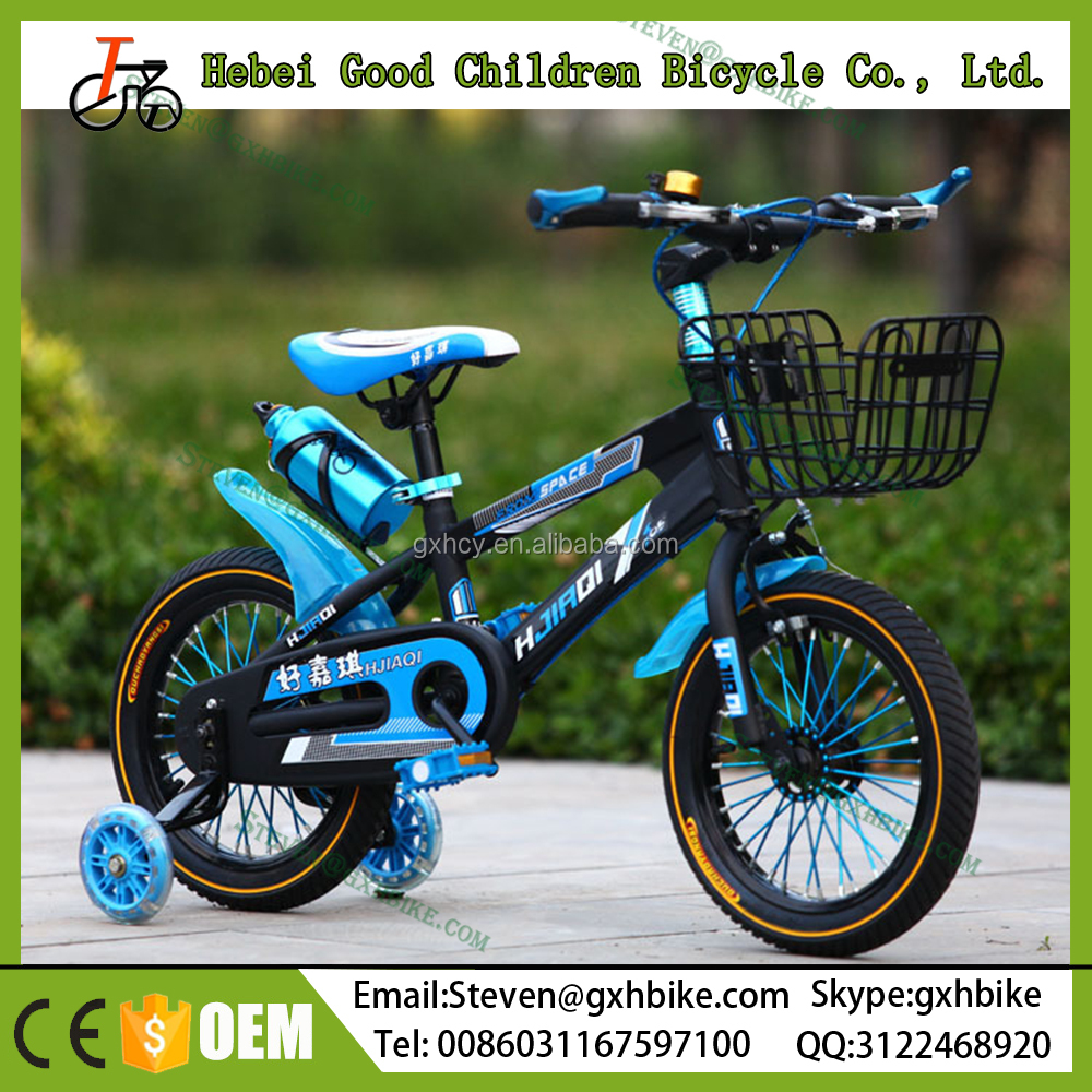 14 inch mountain bikes for kids / Best quality four wheel child cycle price / wholesale baby bicycle 2017