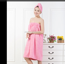 Wholesale Dyed Microfiber Water Absorption Bath Towel Zhangjiang