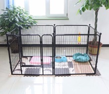 Cheap Retractable expandable outdoor temporary decorative folding metal petbaby animal pet dog fence wire netting