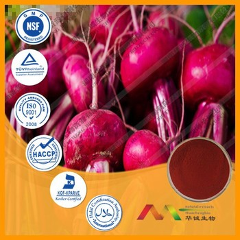 NSF-GMP Supplier provide health products Red Beet Root Extract powder
