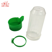 Pigeon bird waterer plastic hanging bird drinker Pigeon feed tray in cage