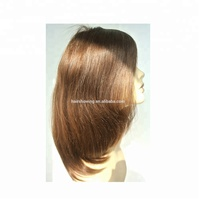 Best Quality, double lace on the top medical wig in full lace wig