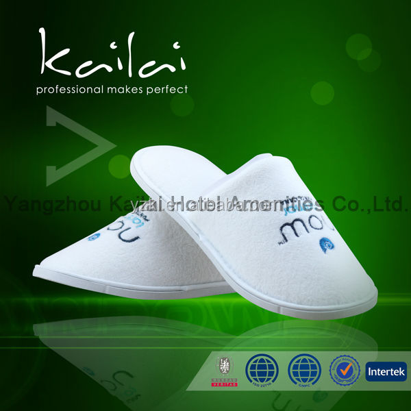 airline slippers new model slipper man leather slipper