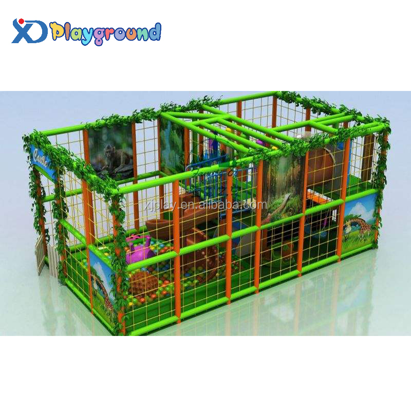 Small-size competitive price kids jungle indoor playground for home