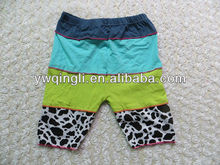 2013 Comfortable Wholesale Petti Pants Colorful baby boy shorts w boxers