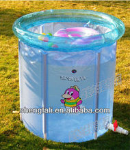 Molded plastic swimming pools