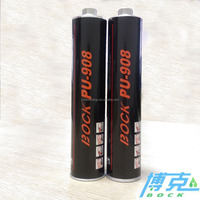 Black paste pu windshield sealant high adhesive